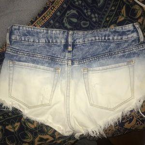 PacSun Shorts - PacSun Ombré Jean Shorts